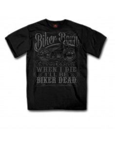 Biker Born Label  Pocket T-Shirt