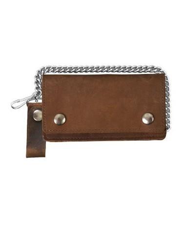 Bi-Fold Classic Brown
