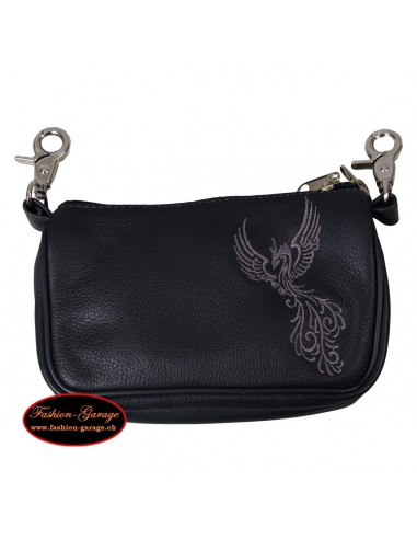 Embroidered Clip Pouches