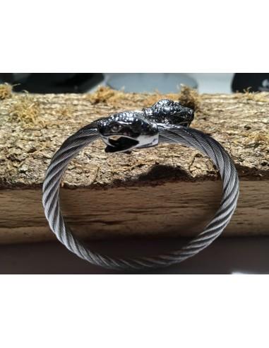 Armband Schlangenkopf