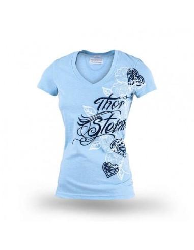 Rosenrod T-Shirt Hellblau