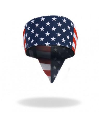 Stirnband (Amerika Flagge)