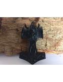 """Anhänger """"Thors Hammer black skull"""""""