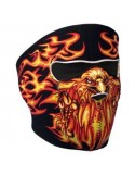 Blazing Eagle Face Mask