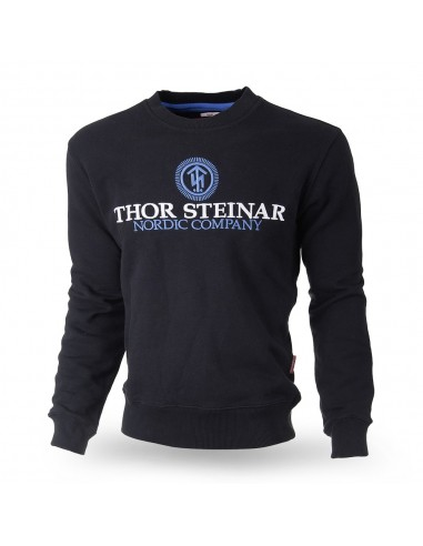"Sweatshirt ""Support"" schwarz-blau"