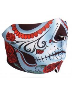 Calavera Half Face Mask