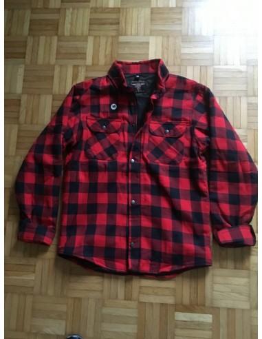 "Jacke ""Lumber Jack"" red/black"