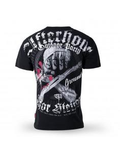 T-Shirt Afterhour schwarz
