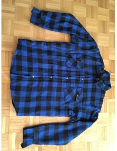 "Jacke ""Lumber Jack"" blau/schwarz"