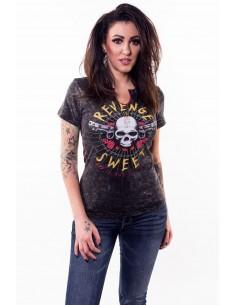 """Damen T-Shirt """"Revenge is Sweet"""""""